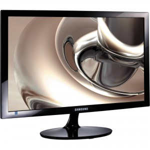 """Samsung Simple LED 24"""" FHD Monitor S24D300H with High Glossy Finish"""