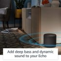 Echo Sub - Powerful subwoofer for your Echo (requires compatible Echo device)