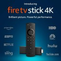 Fire TV Stick 4K Streaming Media Player with all-new Alexa Voice Remote