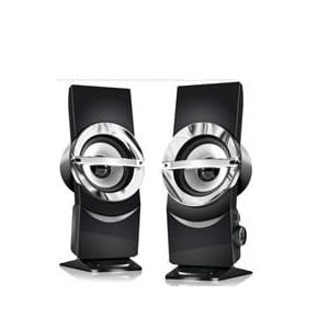 Audionic 6-954217-562278 Alien 3 USB Powered 2.0 Channel 3 Watt X 2 Multimedia Speakers