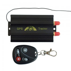 GPS SMS Tracker with Remote Control and free PC Software Google Maps link for real time tracking - TK103B