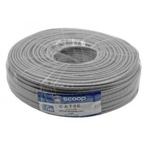 Scoop UTP-100C 100m Roll Cat5e CCA UTP Cable
