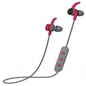 Polaroid PBE112 Bluetooth In Ears Grey and Red Bluetooth Earbuds