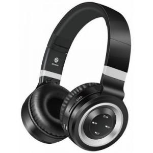 Volkano VK-2004-BKSL Lunar Series Black & Silver Bluetooth Headphones