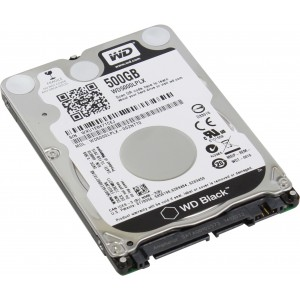 Western Digital Bare Drives WD Black 500GB Mobile HDD