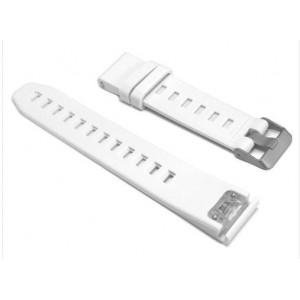 Tuff-Luv G3_98 Garmin Fenix 5 / Forerunner 935 / Sapphire Approach S60 Silicone Watch Strap - White
