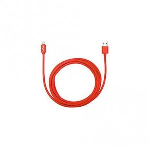 Jivo JI-1706 Lightning to USB Flat Cable 1m - Red