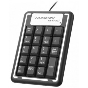 USB 19 Keys Numerical Keypad