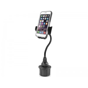"Macally MCUP2XL Car Cup Holder Mount - 8"" /20 cm iPhone/Smartphone"