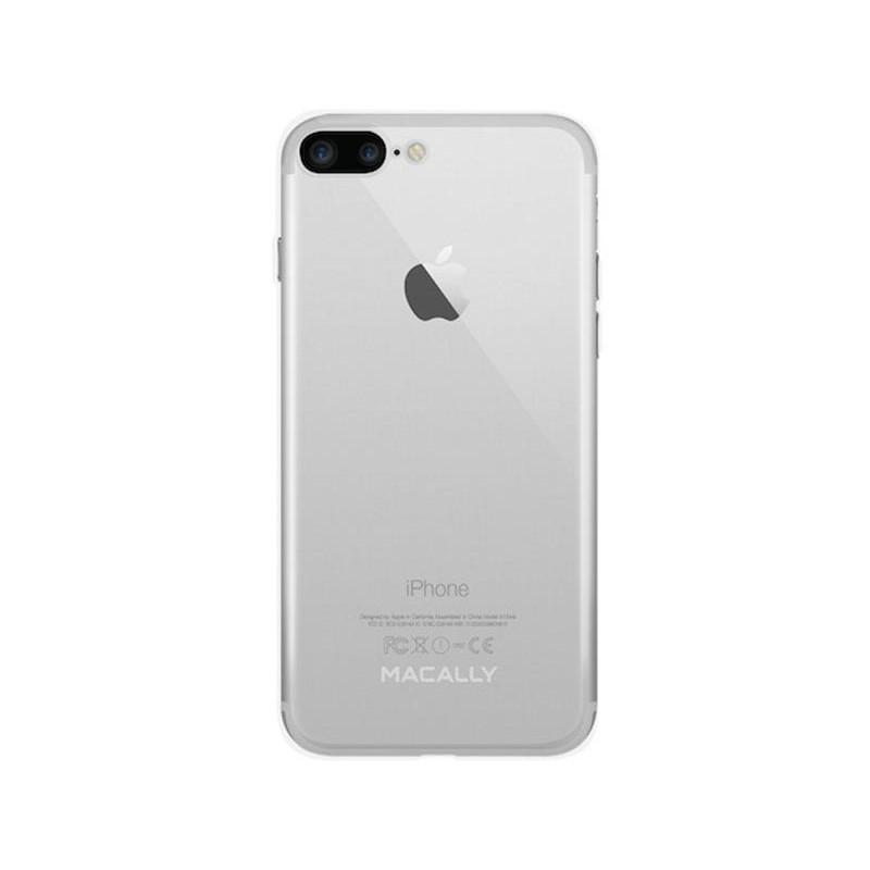 cheap for discount e9324 a0855 Macally LUXRP7L-C TPU Clear Case - iPhone 7 Plus