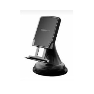 Macally MGRIPMAG Magnetic Car Windshield Mount- iPhone/smartphone