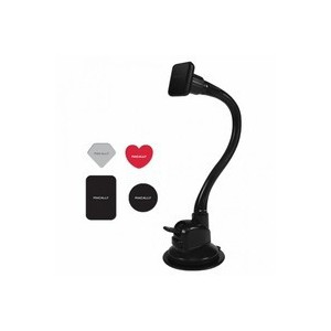 Macally MGRIPMAGXL 30 cm Long Car Suction Mount with Magnetic iPhone/smartphone Holder