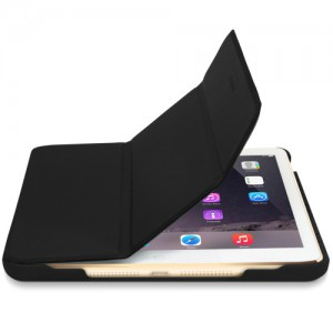 Macally BSTANDM4-B Protective Case & Stand for iPad Mini 4 - Black