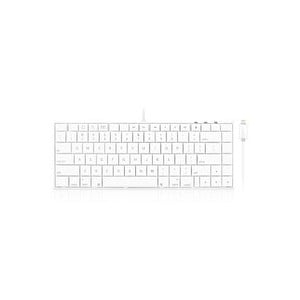 Macally IKEYLTII Full Size Keyboard for iPad, iPhone and iPod (With Lightning Port)