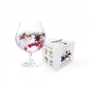 Gin Tribe Secco 8 Pack - Mixed Drink Infusion - Includes 8 packets of : Spiced Pomegranate