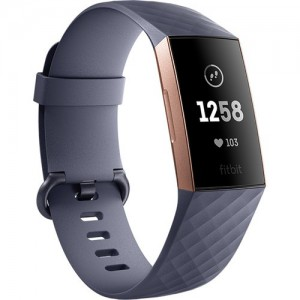 Fitbit Charge 3 Fitness - Blue-Gray