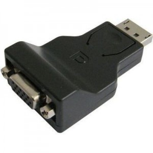 Tuff-Luv  A1_98 2 Styles Male Display Port to VGA Female Adapter