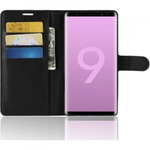 Tuff-Luv A1_203 Essentials Leather Wallet & Card Holder for Samsung Galaxy Note 9 - Black