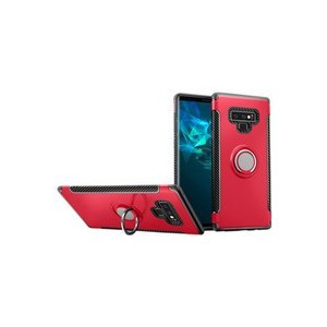 Tuff-Luv A1_210 Magnetic Armour case with 360 Degree Stand for the Samsung Galaxy Note 9 - Red