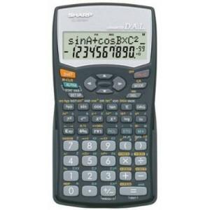 Sharp EL531 WH-BK Black Scientific Calculator