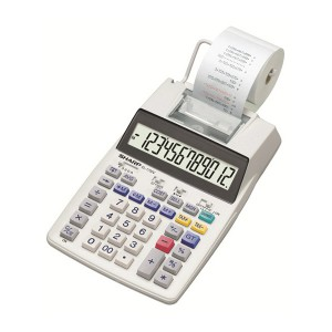 Sharp EL-1750V Print Calculator