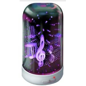 JGI AOD-17090608 Lumi 3D Aroma Diffuser (Music )