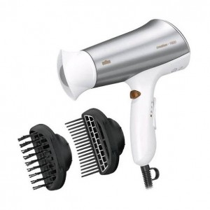 Braun C1900S2MN 1900W Hairdryer Creation with 2 detachable combs