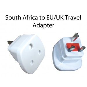 South Africa to UK/EU Travel Adapter