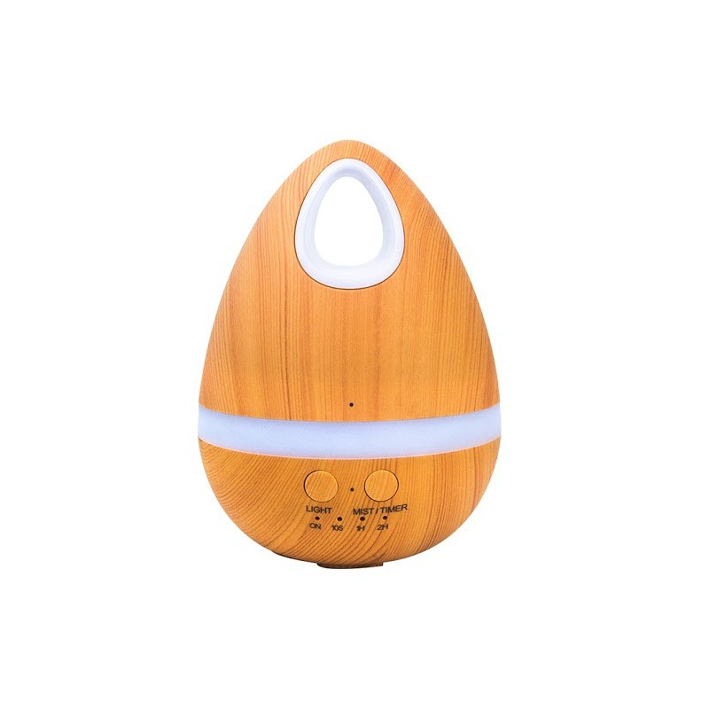 Crystal Aire WT002-1 Natural Wood Aroma Diffuser