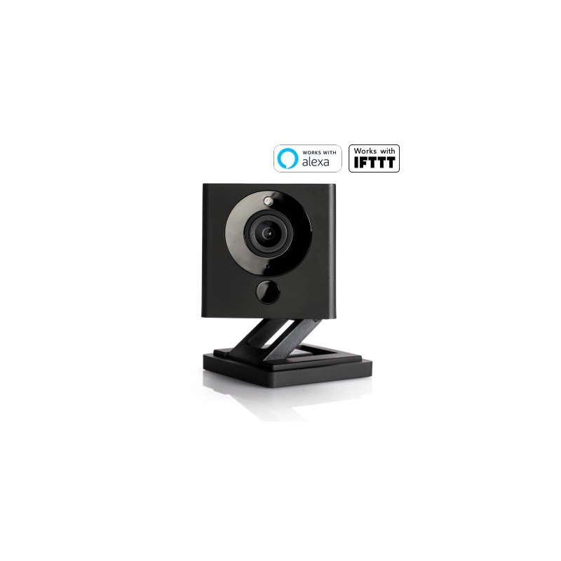 Wyze 1080p HD Indoor Wireless Smart Home Camera with Night Vision V2 - Black (special edition)