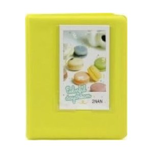 Tuff-Luv F2_91 Instax Photo Album - Holds 64 Instax Photos - Yellow
