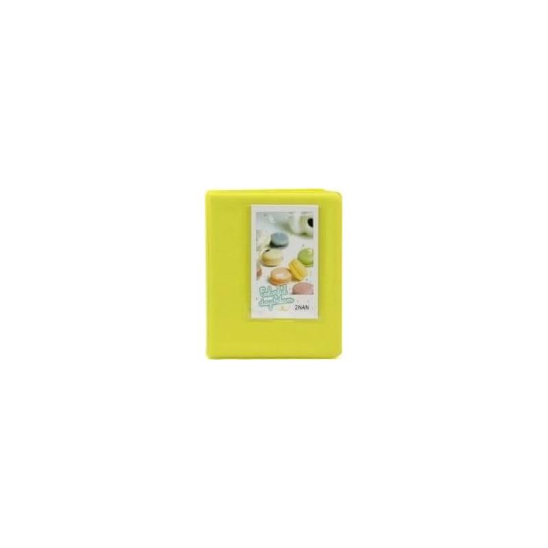 Tuff-Luv F2_91 Instax Photo Album - Holds 64 Instax Photos - Yellow