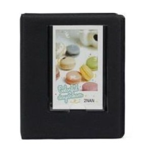 Tuff-Luv F2_86 Instax Photo Album - Holds 64 Instax Photos - Black