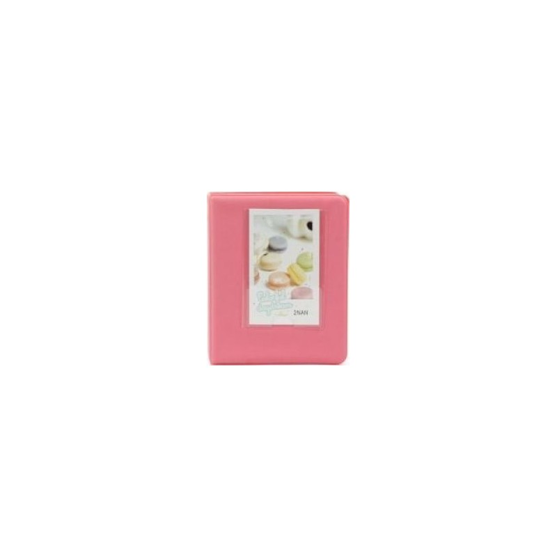 Tuff-Luv F2_90 Instax Photo Album - Holds 64 Instax Photos - Pink