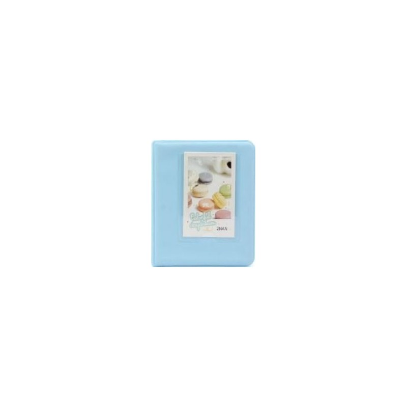 Tuff-Luv F2_92 Instax Photo Album - Holds 64 Instax Photos - Blue