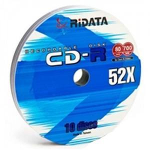 Ridata CD-R, 10 Disc Pack