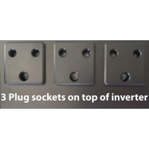 Mecer 1200VA Inverter + 2x 105Ah Battery (8 HOUR BATTERY LIFE) KIT - (720W)
