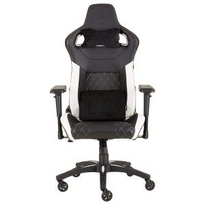 Corsair CF-9010012 Gaming Chair Racing Design, Black/White