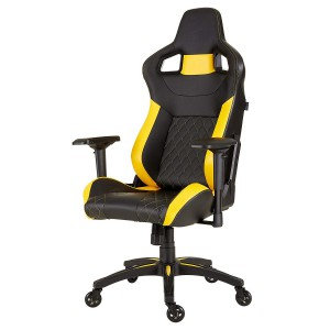 Corsair CF-9010015 Gaming Chair Racing Design, Black/Yellow