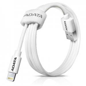 ADATA APPLE, SYNC/CHARGE LIGHTNING WHITE