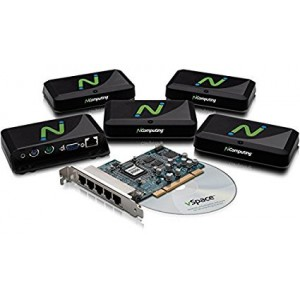 N Computing X550 Thin Client 5-User kit with PCI card & vSpace