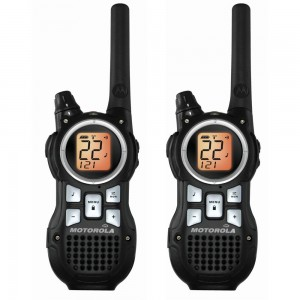 Motorola MR350R 56KM Range 22-Channel FRS/GMRS Two-Way Radio Set