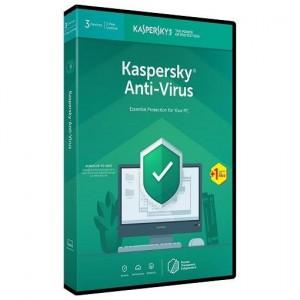 Kaspersky KL1171QXDFS-9ENG Anti-Virus 3 User DVD