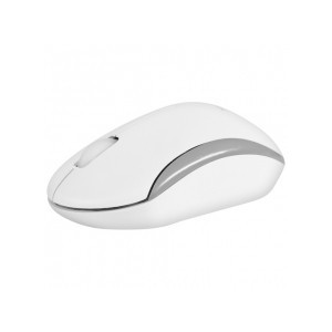 Macally RFQMOUSE Wireless Optical RF Mouse - White