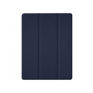 """Macally BSTANDPRO3L-BL Protective Case and Stand for 12.9"""" iPad Pro (2018) - Blue"""