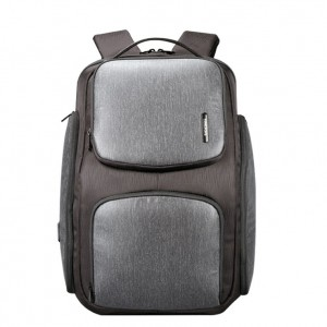 Kingsons KS9252W-BKGR Raptor Series Laptop Backpack - Black & Grey (K9252W)