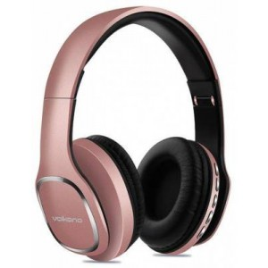 Volkano VK2002GD Phonic Series Rose Gold Bluetooth Full Size Headphones