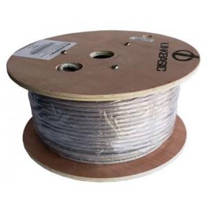 Linkbasic UTP-6100A 100M Drum Cat6a Solid UTP Cable