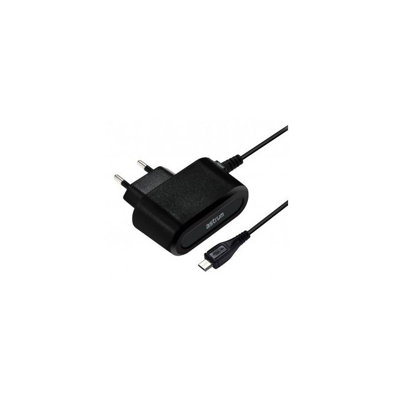 Astrum A92520-B Home Charger 2A with 1.5m Micro USB Cable - Black