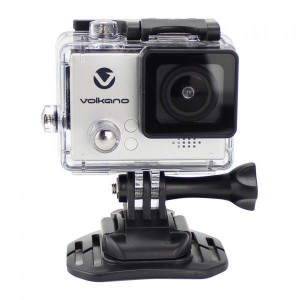 Volkano VK-10006-SL Lifecam Plus Series Silver Action Camera